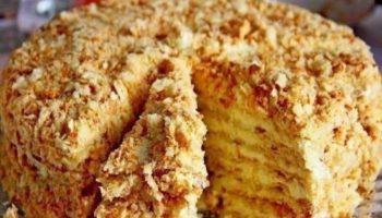 Торт «Светлана» (без выпечки)