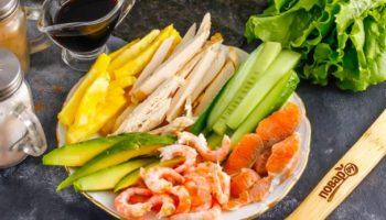 Начинки для суши