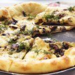 Пицца с грибами как в Италии: все секреты приготовления