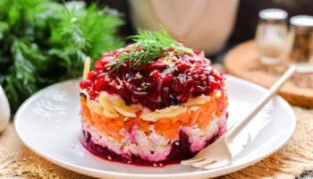 Салат «Чингисхан» со свеклой