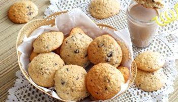 Американское овсяное печенье с шоколадом