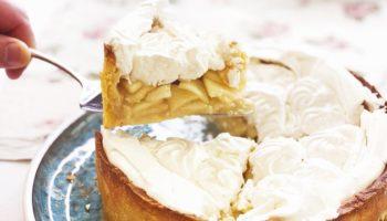 Цветаевский яблочный пирог с меренгой (безе). Вкусный, нежный, как торт!