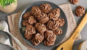 Шоколадное печенье от Пьера Эрме