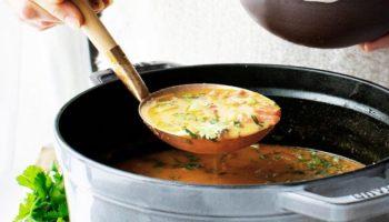 Суп с чечевицей и копчёностями по-немецки