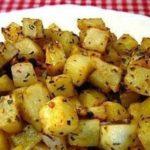 Картофель с чесноком по-гречески в духовке, рецепт с фото