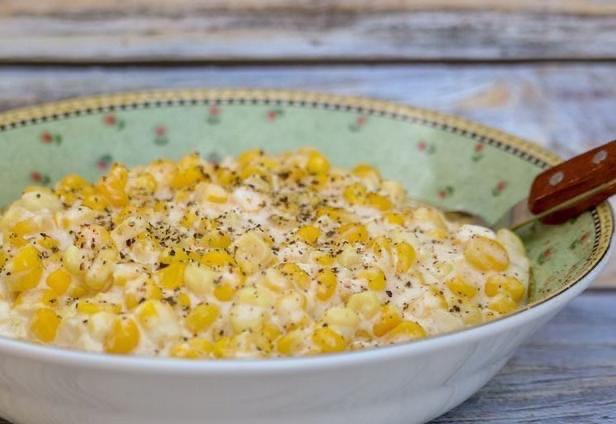 Кукуруза в сливочном соусе