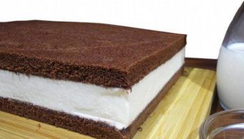 Торт ко Дню защиты детей  «Киндер Милк-Слайс»