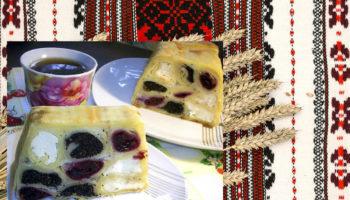 До Дня вишиванки: млинцевий торт «Вишиванка»