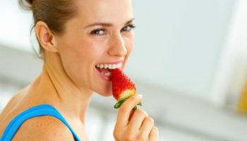 Как похудеть с помощью клубники