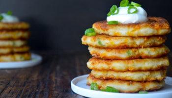 Картофельно-сырные драники