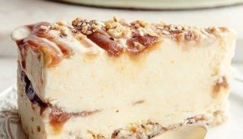 Йогуртовый торт-мороженное