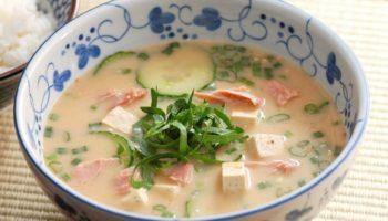 Холодный суп Хиядзиру (Hiyajiru/冷や汁).