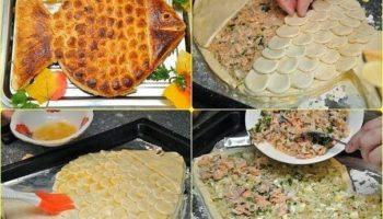 Пирог-«Золотая рыбка»