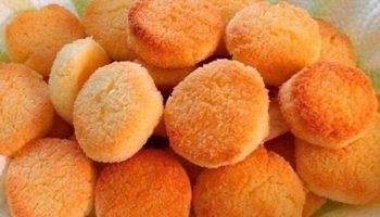Печенье домашнее с корицей на сковороде.