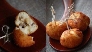 Крокеты картофельно-грибные