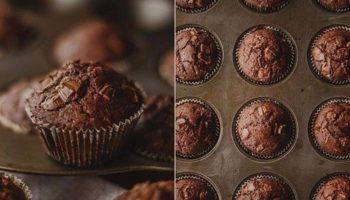 Вкусные шоколадные маффины