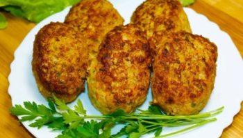 Котлеты мясные с кабачком — сочные, нежные, вкусные