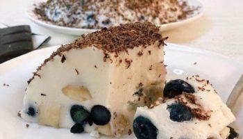 Творожно-йогуртовый тортик