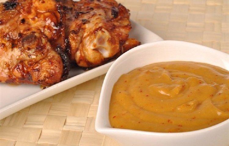 Абрикосовый соус к мясу