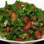 Салат с фасолью по-аргентински