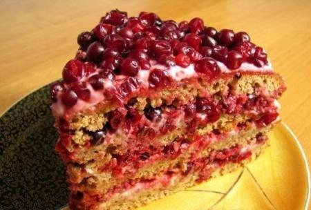 Торт «Таежный»