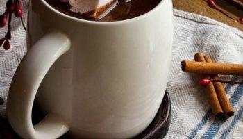 Горячий шоколад с чаем Эрл Грей