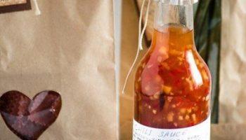Кисло-сладкий соус с имбирем и перцем чили