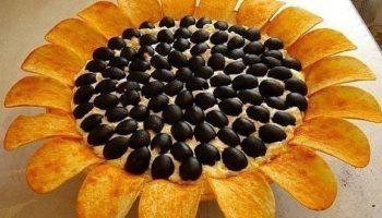 Салат «Подсолнух»