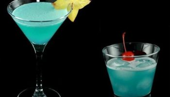 Коктейль Голубой гаваец