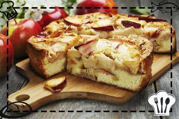 Яблочная шapлотка, пpoсто объедение!