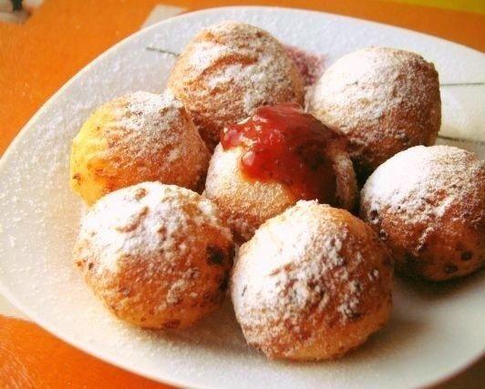 Очень вкусные творожные пончики