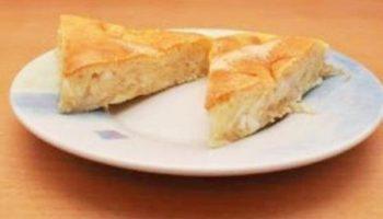 Пирог с капустой из жидкого теста