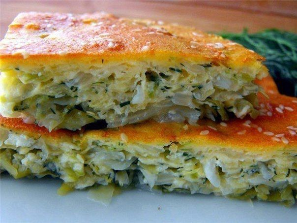 Невероятно вкусный капустный пирог!