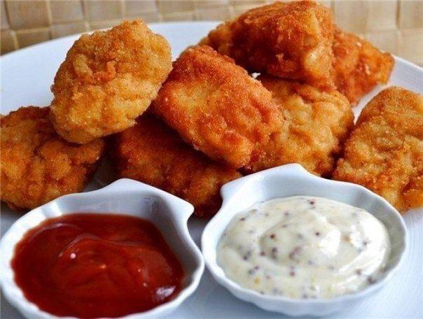 Куриные наггетсы как в MacDonalds