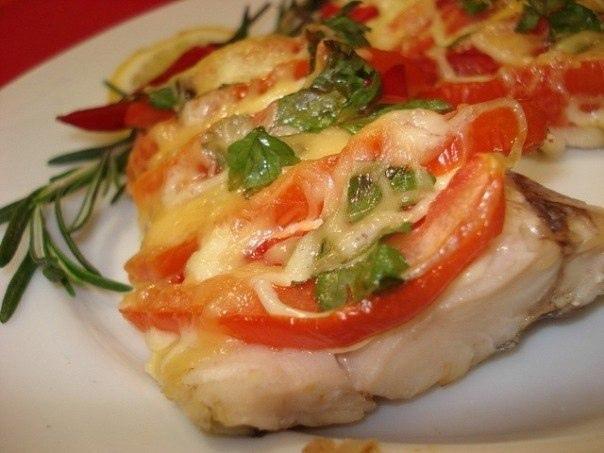 """Рыба """"по-французски"""" на ужин!"""