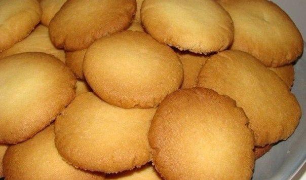 Очень простое, но вкусное печенье