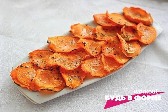 Мopковные чипсы: витаминный перекус
