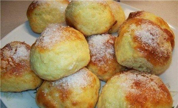 Творожные булочки за 15 минут