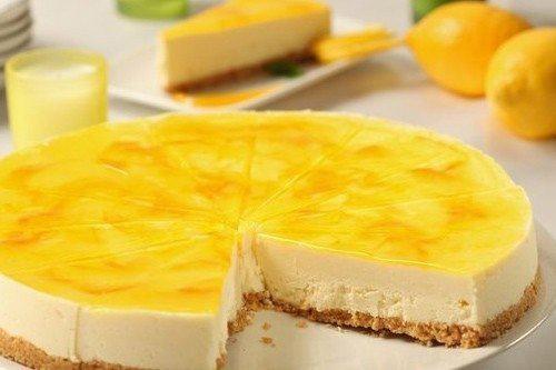 Лимонный чизкейк с медом