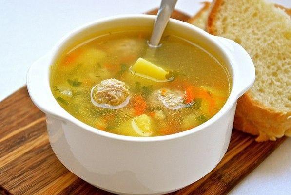 Бабушкин суп с фрикадельками