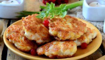 Шницели с сыром — просто и очень вкусно!