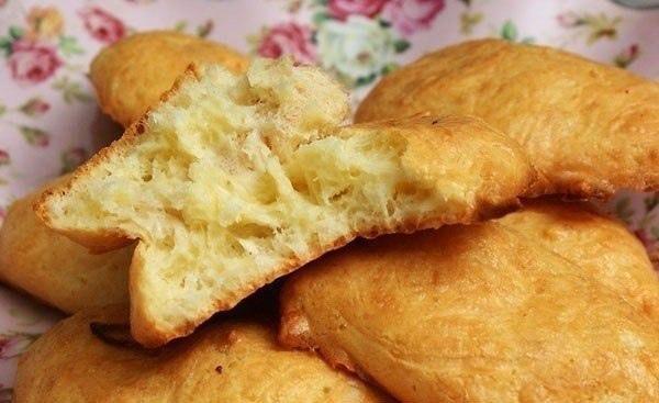 Быстрое сырное печенье