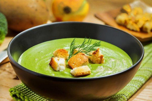Полезный сливочный суп из брокколи