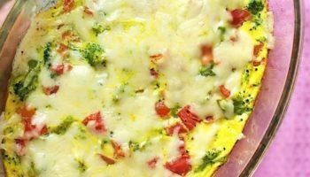 Очень вкусная и полезная запеканка из брокколи