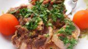 Запечённая говядина в соусе